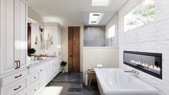 Upper Level Master Bath