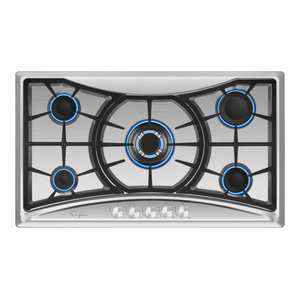Empava 12 Stainless Steel 2 Italy Sabaf Burners Stove Top Gas Cooktop EMPV-12GC010