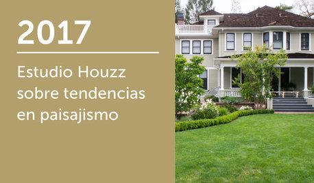 Estudio Houzz sobre tendencias en paisajismo 2017