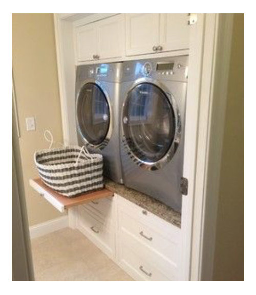 Is This Washer And Dryer Pull Out Shelf