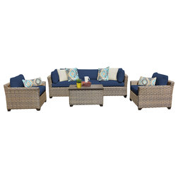 Superb Tropical Outdoor Lounge Sets by Design Furnishings
