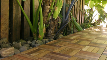 Iron Woods(R) CoverIt(R) pe Deck Tile entryway