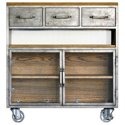 Industrial Utility Carts by HedgeApple