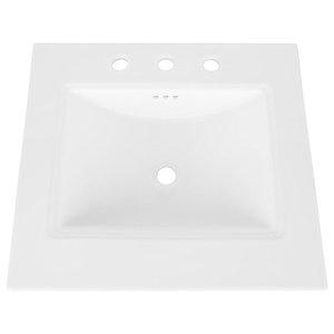 Bristol Bathroom Ceramic Undermount Sink Contemporary