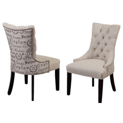 Transitional Dining Chairs by BASSETT MIRROR CO.