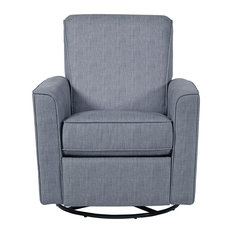 GwG Outlet - Right 2 Home Harmony Carlton Dove Swivel Glider Recliner - Gliders