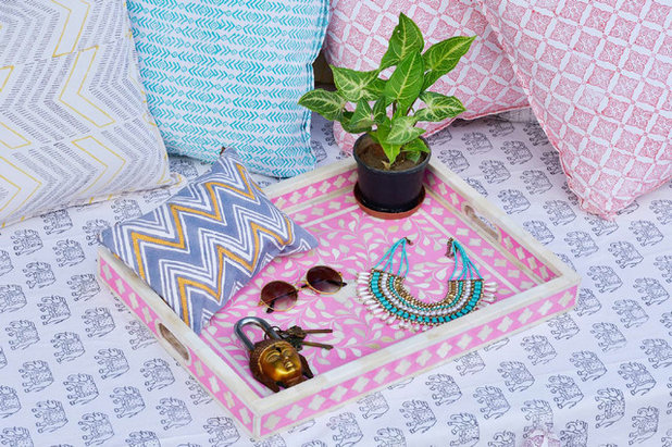 Tropical Serving Trays by Paras Udaipur