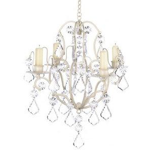 Ivory Baroque Chandelier