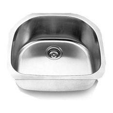 "Undermount Single Bowl Sink, 24""x21"""