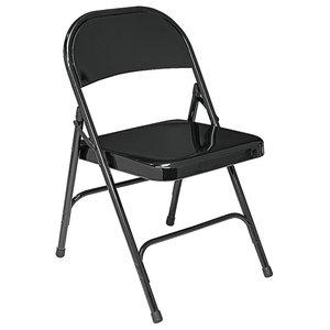 Phenomenal Cosco Cosco All Steel Folding Chair 4 Pack Antique Linen Machost Co Dining Chair Design Ideas Machostcouk