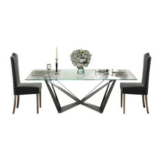 Saphire L08 Dining Table Set 62.99-inch