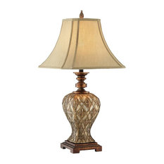 Shop top rated traditional table lamps houzz stein world stein world jaela basket weave resin table lamp gold and copper aloadofball Gallery