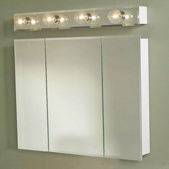 Should A Bar Light Over A Medicine Cabinet Need To Extend