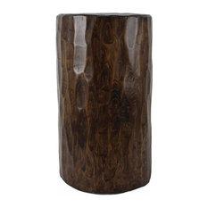 "Santa Fe Solid Pine Log, 12"" Dia X 22"" H"