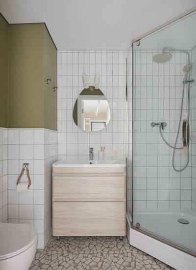 Современный Ванная комната by LIVET architectsIДианова Ольга Темербулатова Лилия