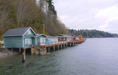 My Houzz: Washington Waterfront Cabin on Stilts