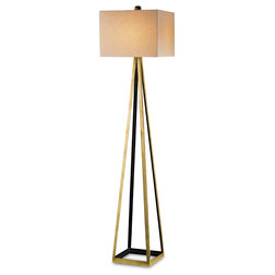 Epic Transitional Floor Lamps by Currey u Company