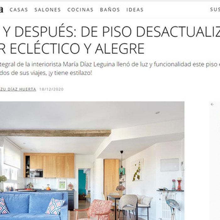 Apartamento Redondo en la revista Mi Casa