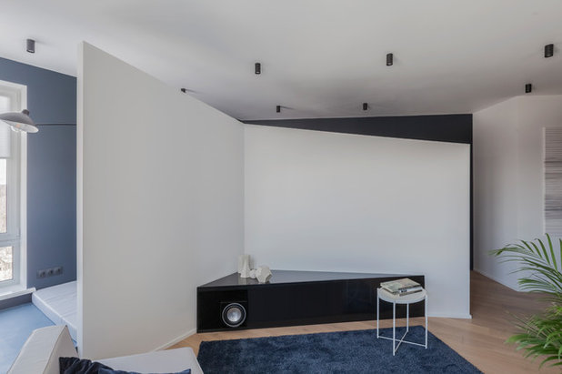 Гостиная by SHKAF interior architects