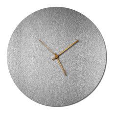 Silversmith Circle Clock Bronze Polymetal Wall Decor