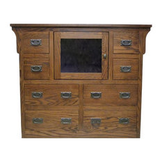 Arts and Crafts Entertainment Chest, Spice Alder