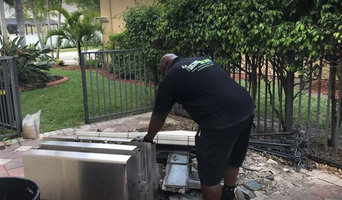 Outdoor Kitchen Removal