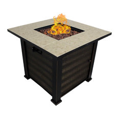 Patio Retreat - Viento Fire Pit Table - Fire Pits