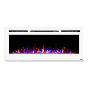 Electric Led Fireplace Wall Mounted Adjustable Heat 54