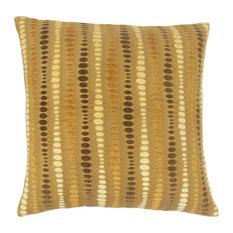 Eolande Geometric Floor Pillow Teak