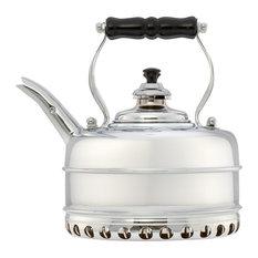 Simplex Kettles by Newey & Bloomer - Simplex Buckingham Whistling Tea Kettle, Chrome - Kettles