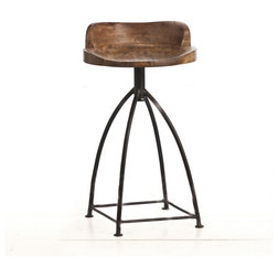 Industrial Bar Stools And Counter Stools by Lighting New York