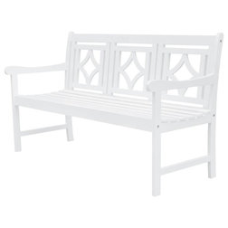 Transitional Outdoor Benches by ShopLadder