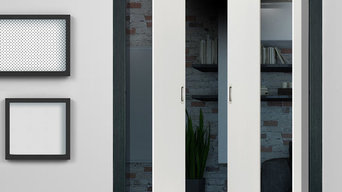 Contemporary Pocket Doors JBK