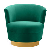 Noah Green Swivel Chair
