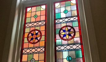 Modern Stained Glass Feature Window