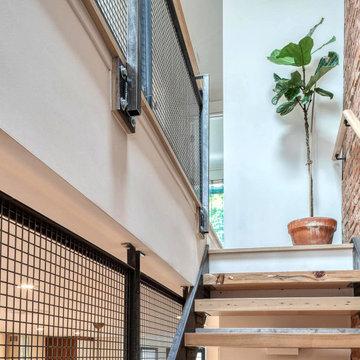 Prospect Lefferts Brick Townhouse - stairs
