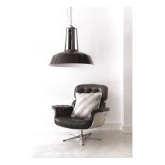 Dema Industrial Pendant Lamp in Black