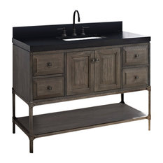 fairmont designs fairmont designs toledo 48 inch traditional bathroom vanity a grey finish