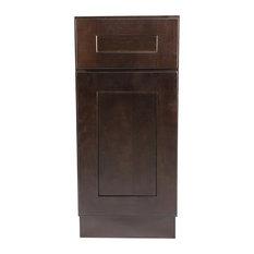 "Design House - 561902 Brookings 9"" Base Cabinet, Espresso Shaker - Kitchen Cabinetry"