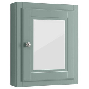 Traditional Bathroom Mirror Cabinet With Inner Shelf for Additional Storage