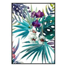 """Incado The Tropic Vibe Collection """"Tropic Flower"""" Framed Poster, 50x70 cm"""
