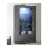 Urbino 2 door glass display unit