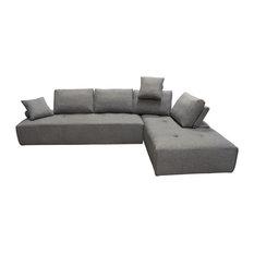 Diamond Sofa Cloud Lounge Seating Platforms, Backrest Supports, 2-Piece Set