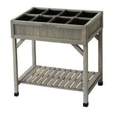 Herb Planter, Gray Wash
