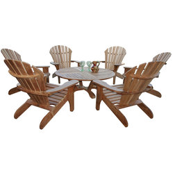 Stunning Traditional Outdoor Lounge Sets by Douglas Nance