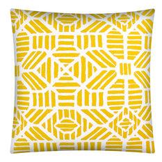 Zambia Pineapple Indoor/Outdoor Pillow, Sewn Closure