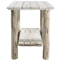 Montana Exterior End Table, Ready to Finish