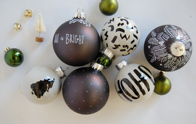 Enjoy a High-Contrast Holiday With These DIY Projects