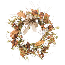Farmhouse Wreaths And Garlands by Petals