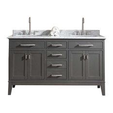 ari kitchen and bath danny 60 double bathroom vanity set bathroom vanities and photos bathroom vanity